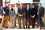 Chinese delegation visiting our Faculty
