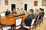 Delegation from Saudi Arabia visit UP MS