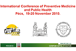 International Conference of Preventive Medicine, 19-20 November